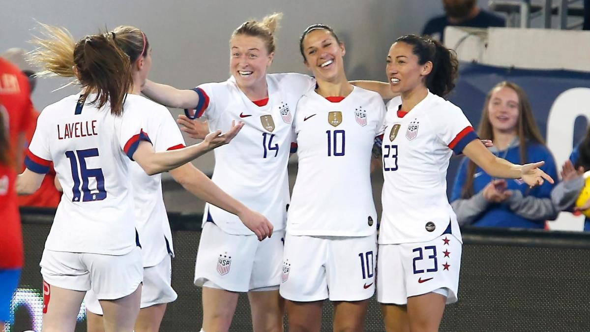 USWNT vs. Costa Rica CONCACAF Olympic Qualifying