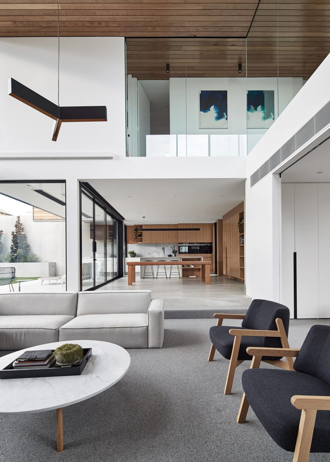 House In Ascot Vale By Fgr Architects Architects House And  # Muebles Voila Murcia