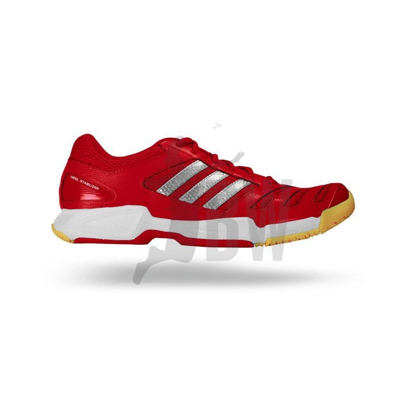 Adidas BT Feather Team Shoes (Red) | Badminton shoes, Adidas