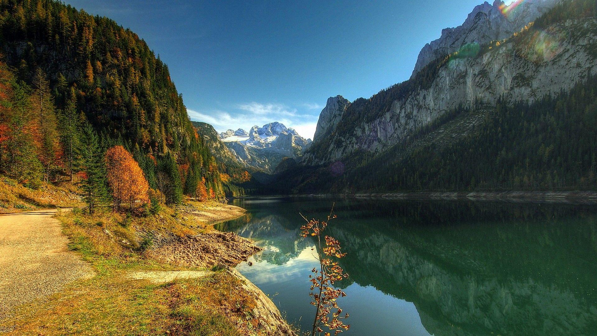 austria lake gosauseejpg 19201080 austria pinterest