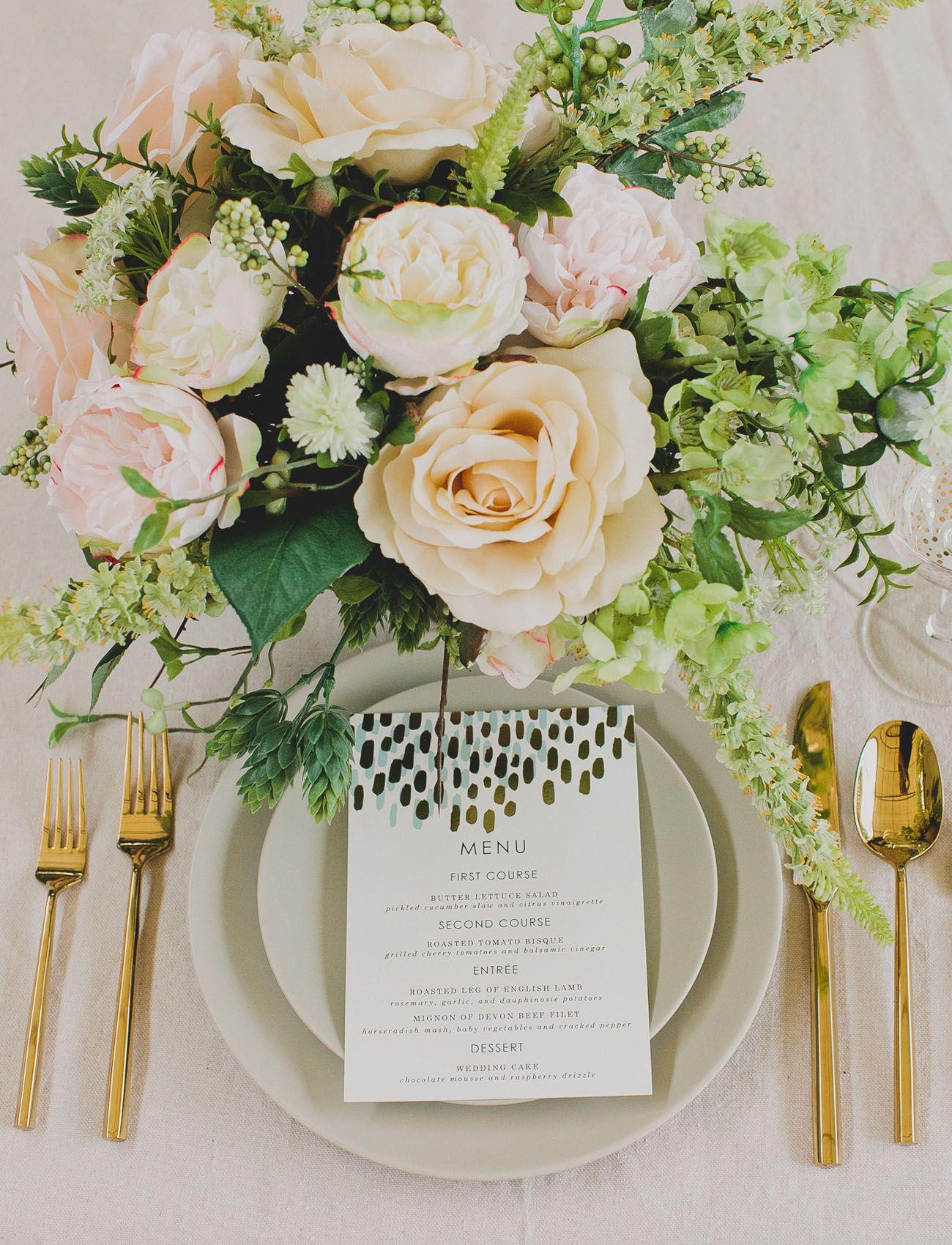 DIY Silk Flower Centerpiece Future wedding Silk flower
