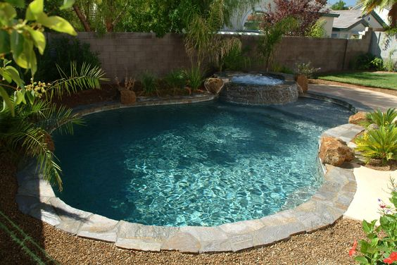 30 Small Pool Backyard Ideas And Tips On A Budget Relentless Home Backyard Pool Landscaping Small Pool Design Small Swimming Pools
