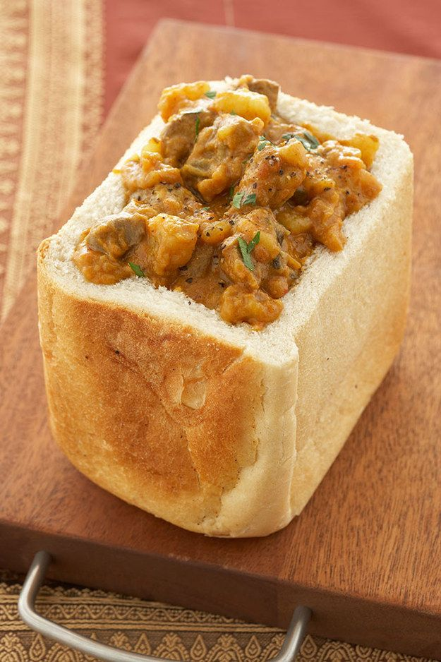 Bunny Chow in Durban, South Africa | 12 Hangover Foods That You Must Eat Abroad