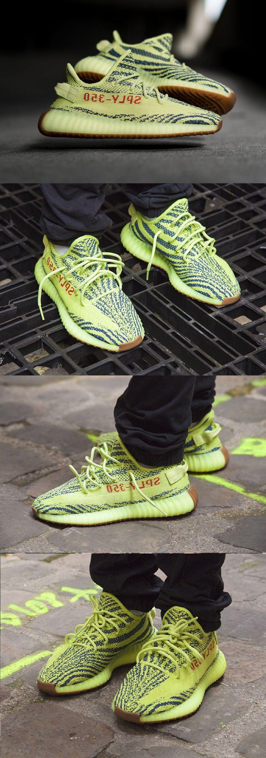 14339 adidas yeezy 350 impulso v2 semi - congelato giallo dipinto le scarpe