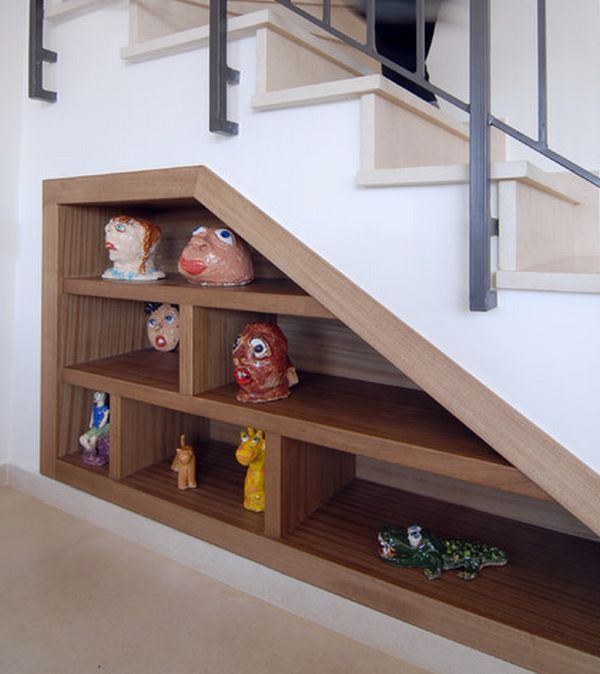 33 Useful Examples How To Use Your Space Under The Staircase Staircase Storage Stairs Design Space Under Stairs