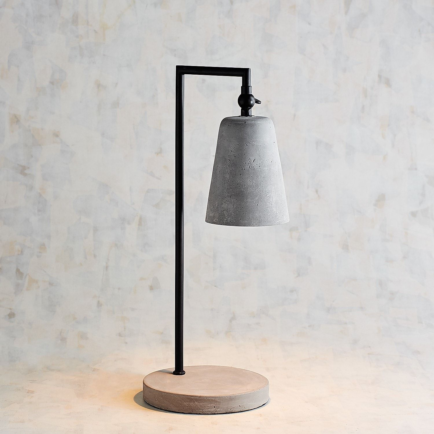 Magnolia Home Small Cement & Metal Desk Lamp in 2019 | Products ...