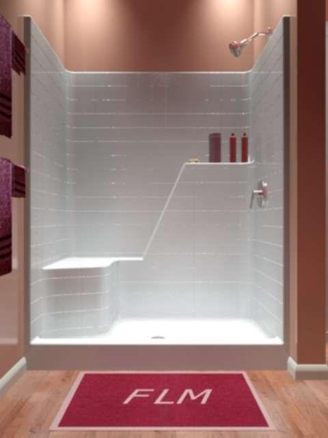 Shower Only  One Piece  Bathroom in 2019  Half bathroom