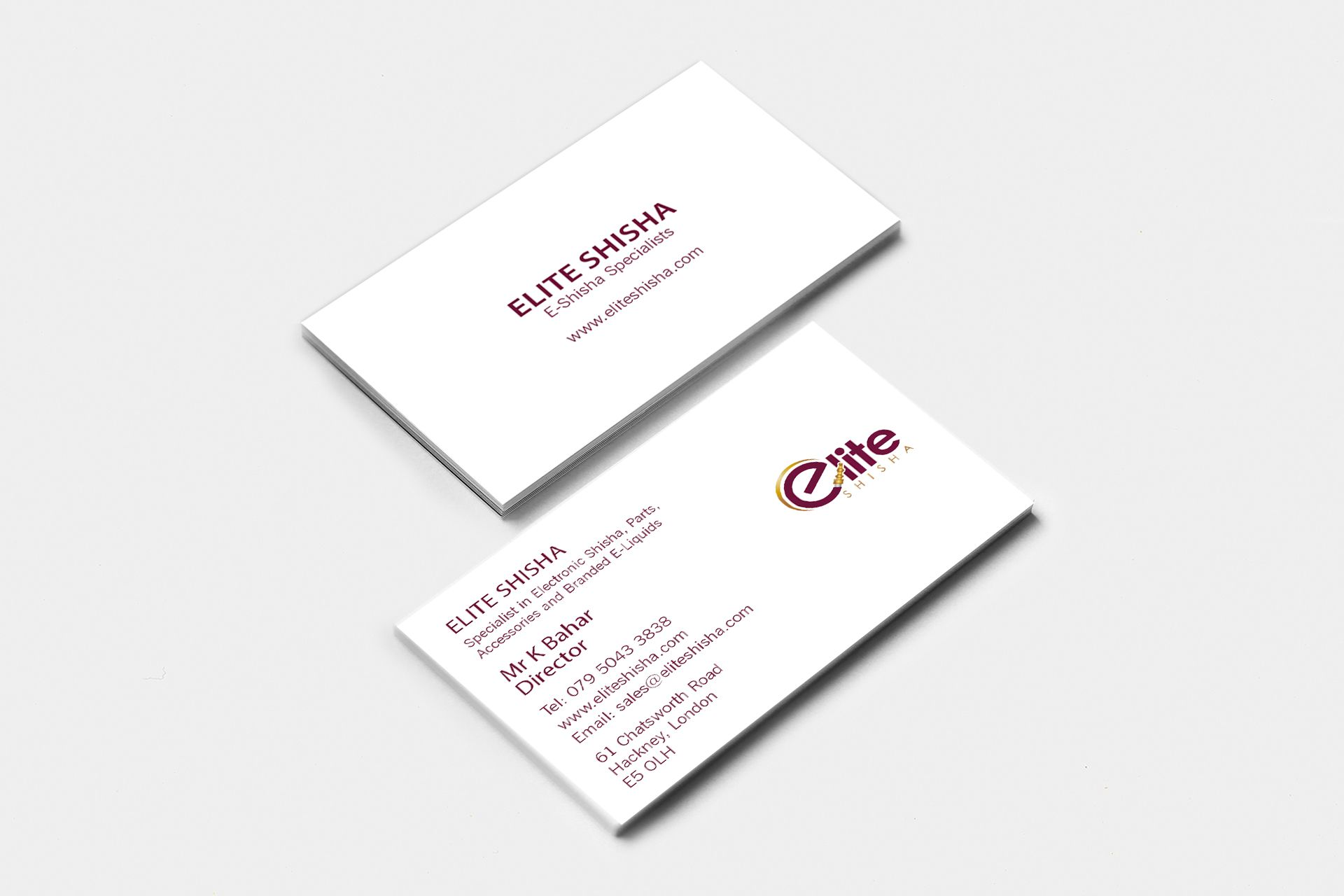 fozdesignsltd business cards 300gsm ice gold