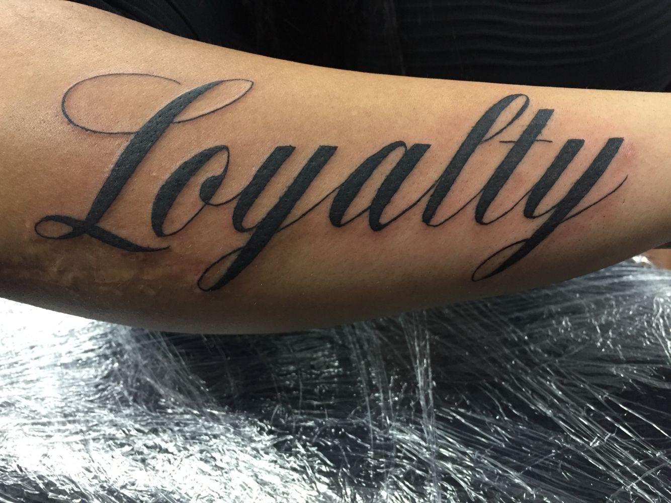 Loyalty Tatoo: Loyalty Tattoo