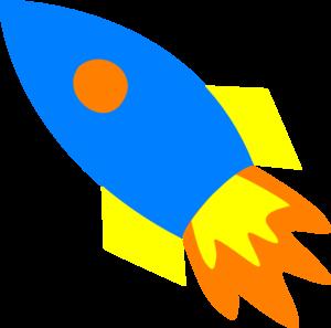 blue rocket ship clip art vector clip art online royalty free rh pinterest com rocket ship clipart png rocket ship clipart outline