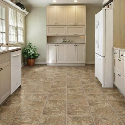 Trafficmaster Allure 12 In X 36 In Red Rock Luxury Vinyl Tile