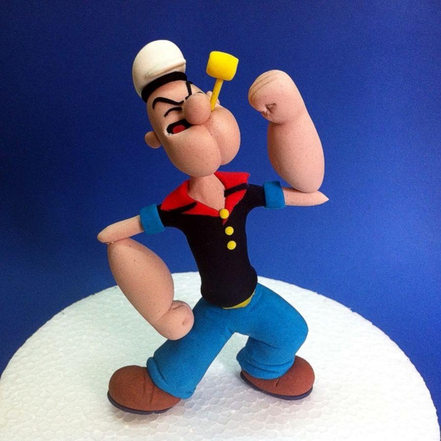 popeye the sailor man popeye the sailor man figurine popeye the