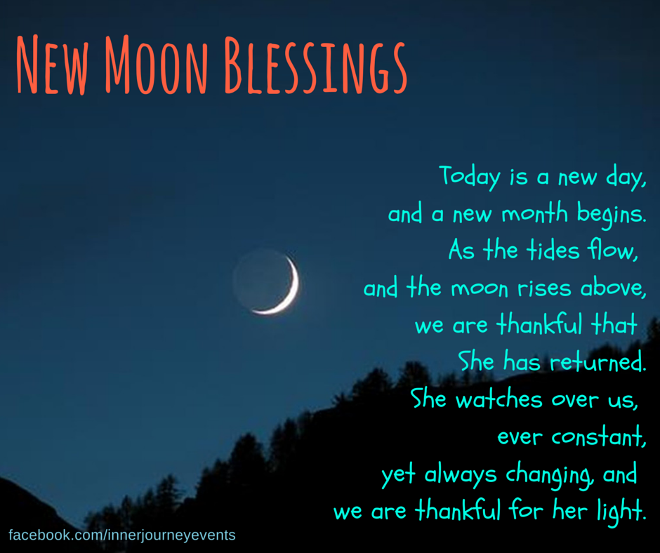 Mooning Over New Missoni: New Moon Blessings: A Prayer For Diana Today Is A New Day