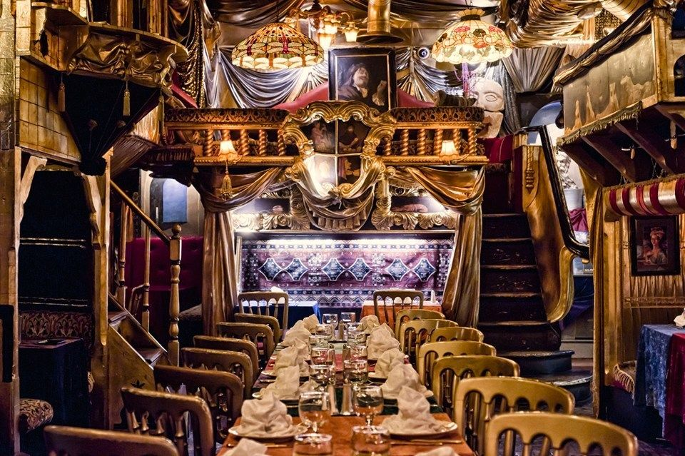 With so many choices eating in London can be difficult, if you're looking for something different head to one of these wacky but wonderful restaurants.
