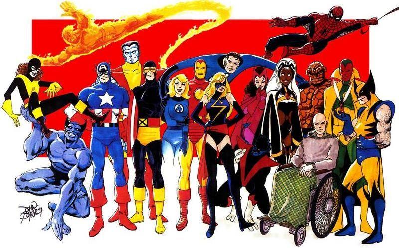 Marvel Heroes John Byrne B Marvel Heroes Superhero Comic Wolverine Art