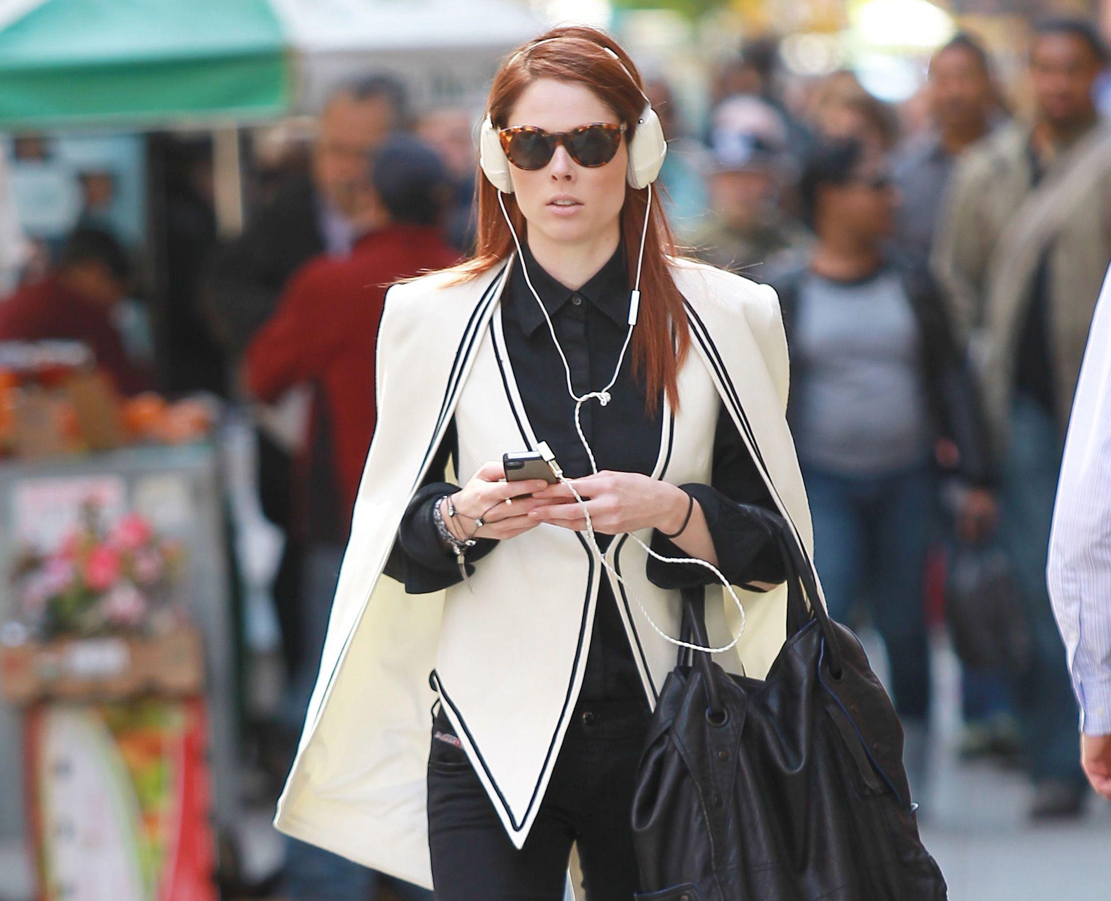 Black & white #outfits: Coco Rocha, en Nueva York