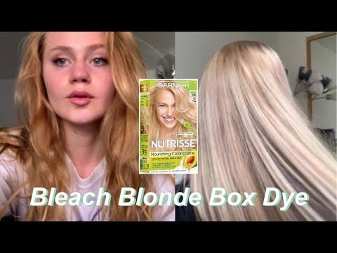 Bleaching Hair With Box Dye Youtube Blonde Box Dye Best Box Hair Dye Box Hair Dye