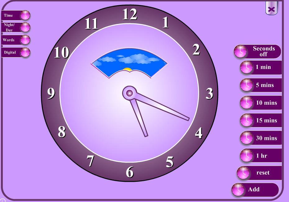 Add And Subtract Time Website School