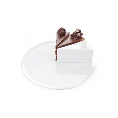Plato con un pedazo de pastel de cerámica (Advertencia: no comestible) | La Guarida Geek