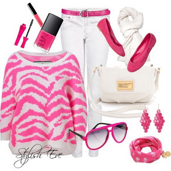 Pink-Winter-2013-Outfits-for-Women-by-Stylish-Eve_05.jpg (598×598)