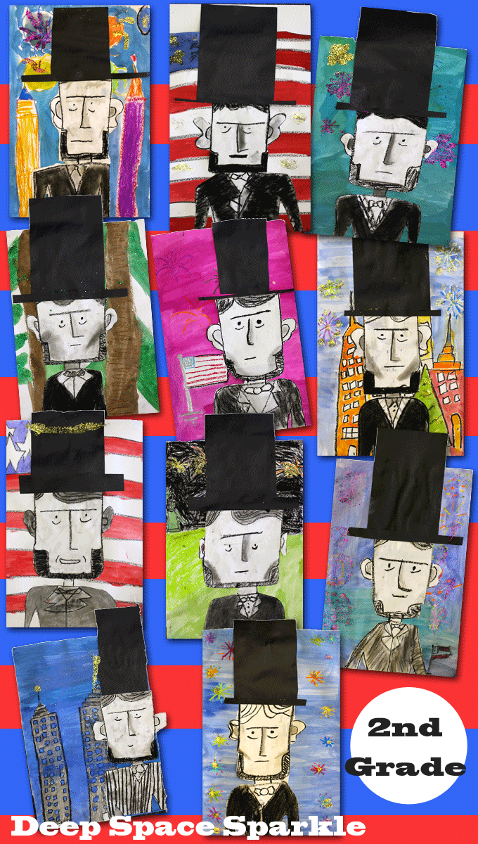 Photo of Lincoln Portraits Art Project | Deep Space Sparkle