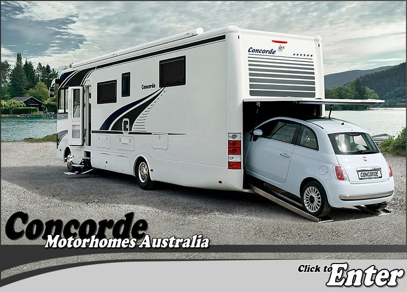 Luxury Trailer Homes Concorde Motorhomes Australia