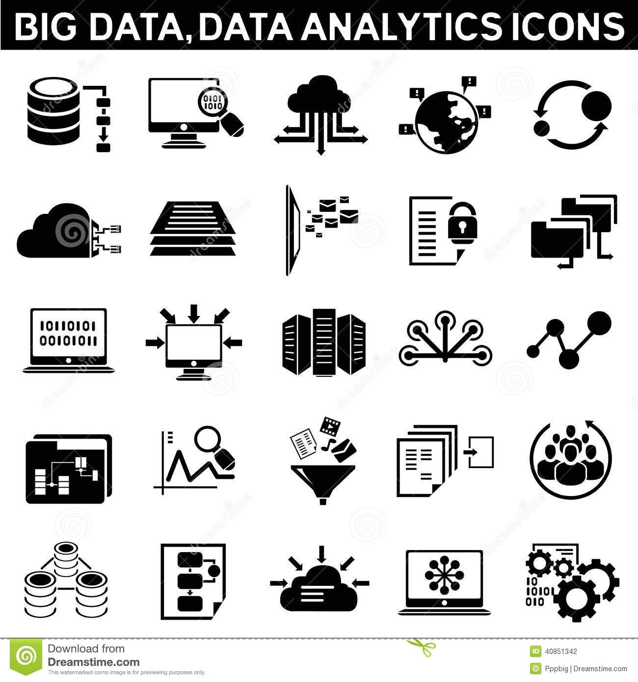 Filter Icons Google Search Data Icon Big Data Technology Icon