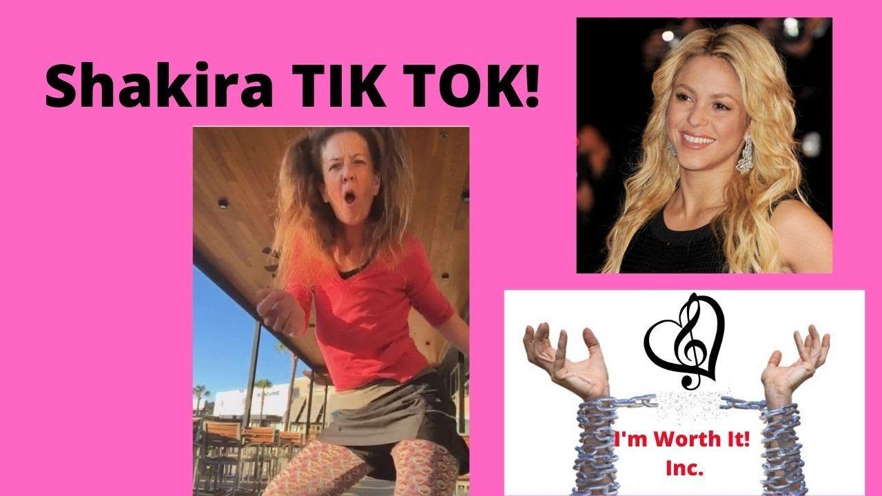 Shakira My Dancing Tiktok Shakira Im Worth It Dance