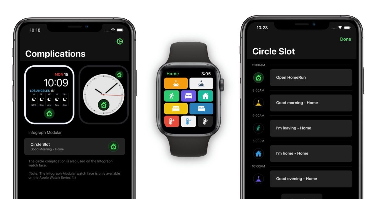 HomeRun for Apple Watch lets you make HomeKit