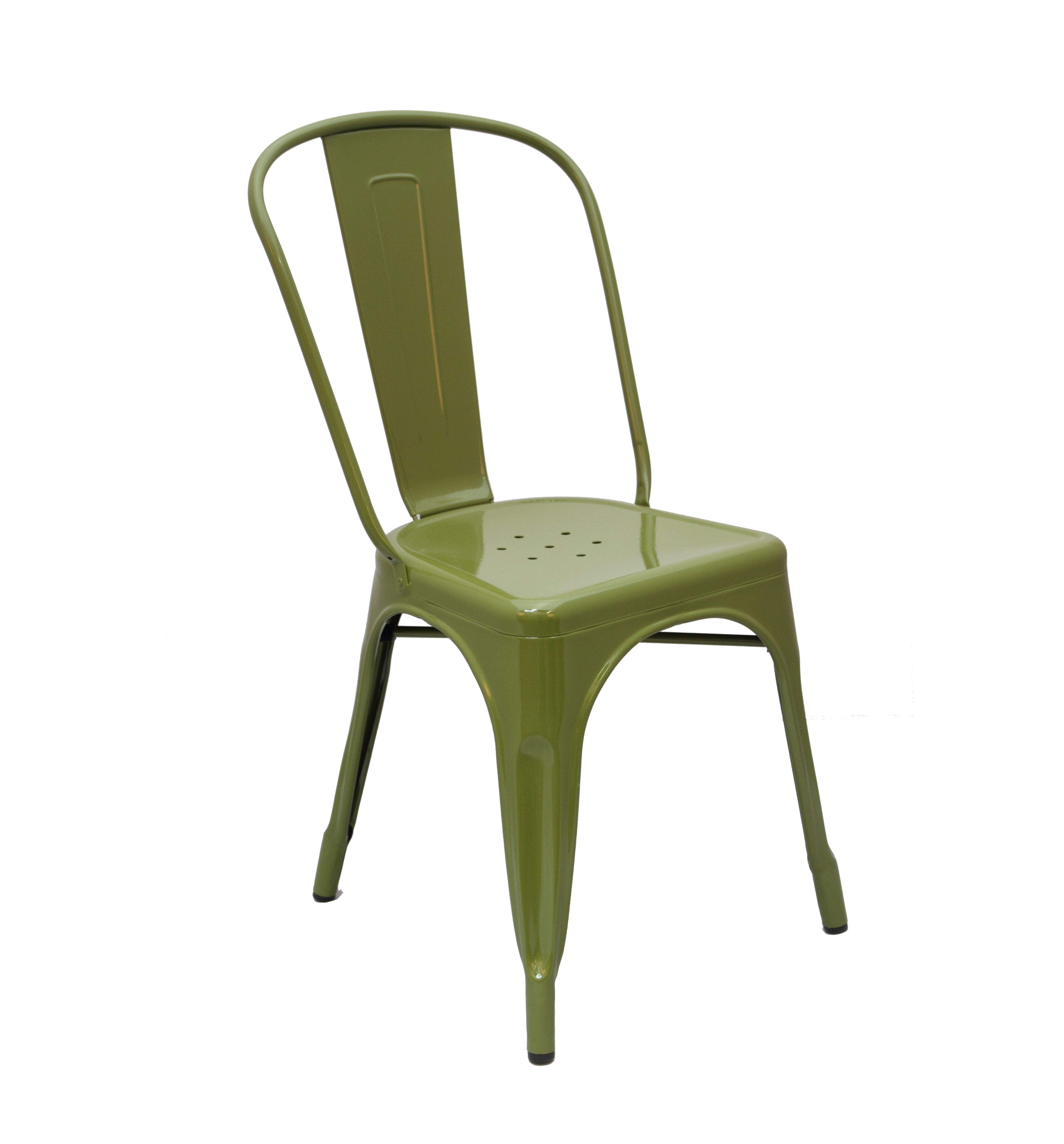 Awesome Xavier Pauchard Tolix Chair ARMY GREEN
