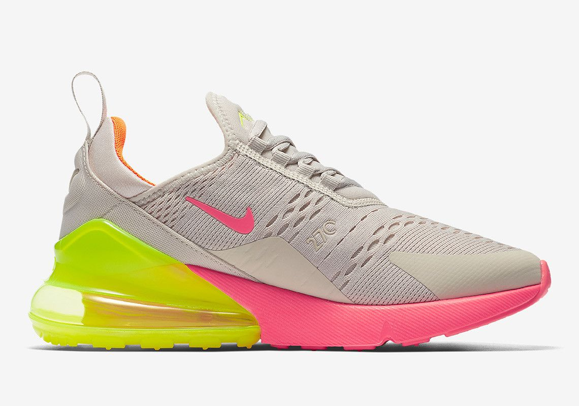 The Nike Air Max 270 Gets Neon Soles