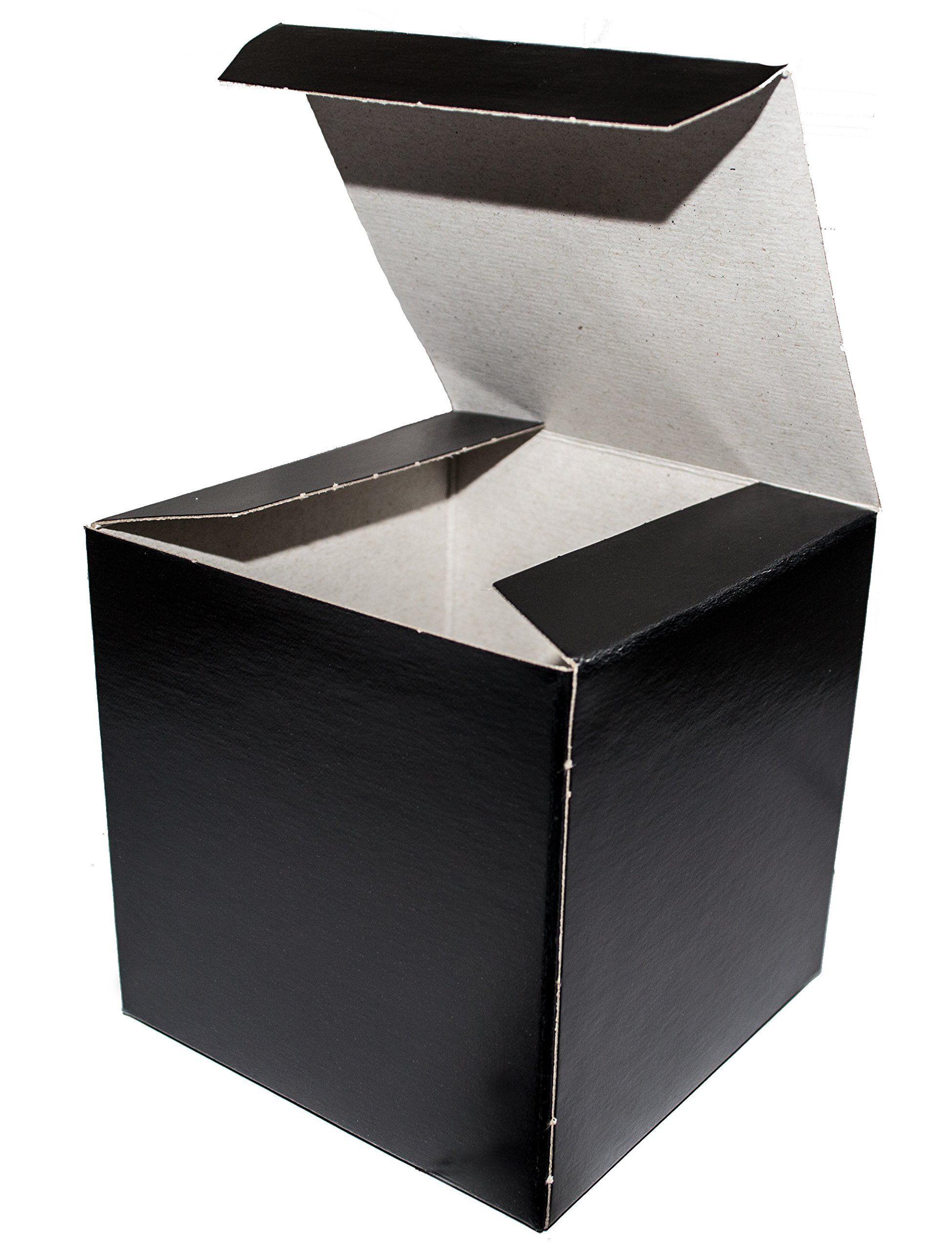 Black Wedding Favor Candy Gift Boxes 4x4x4 25 Boxes For More