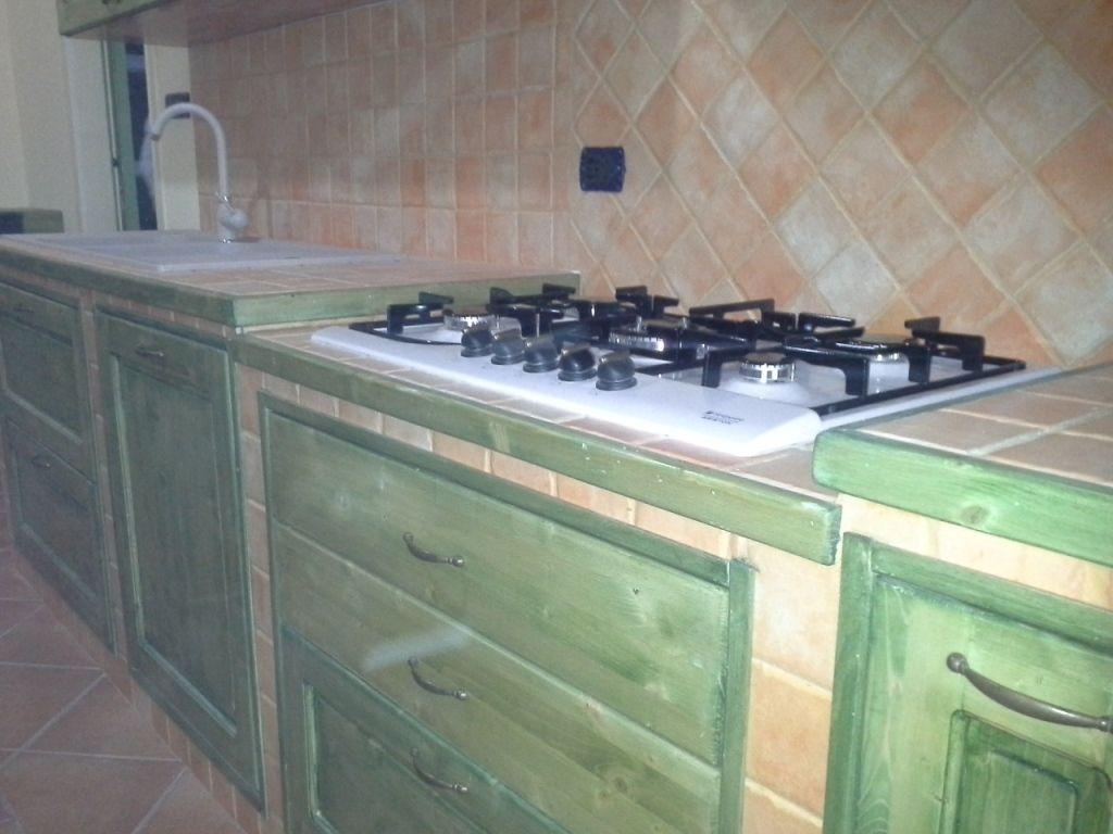 piano cucina muratura   Arredare   Cucina in muratura, Muratura e ...