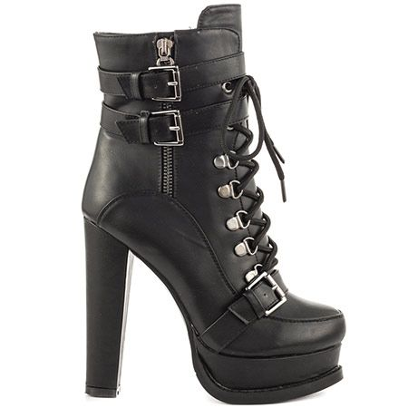 Luichiny Storm Chaser - Black IMI | shoes | Boots, Leather ...
