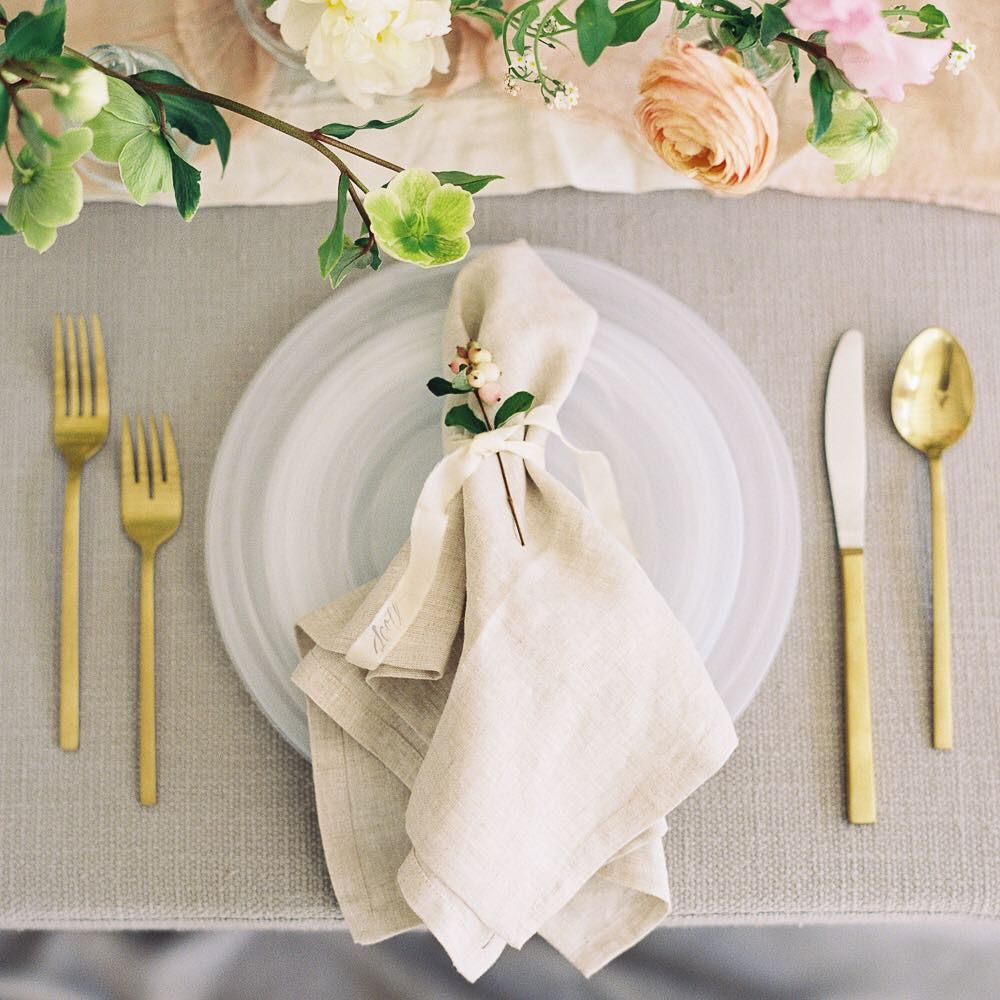"Apryl Dailey on Instagram: ""The prettiest place setting. 