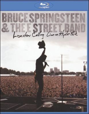 London Calling Live In Hyde Park Dvd Blu Ray Disc Best Buy Bruce Springsteen E Street Band London Calling