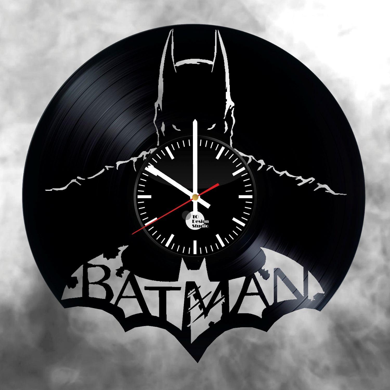 Batman Vinyl Record Wall Clock Batman Artesan 237 As De