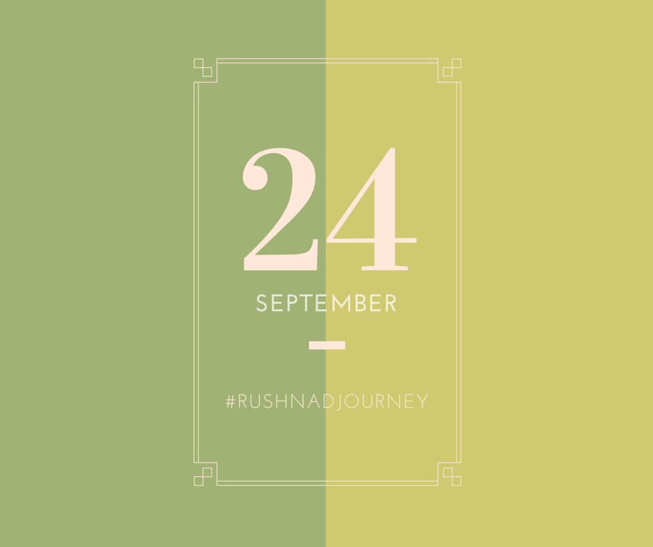 Poster and Tag Graphic | #Rushnadjourney Wedding