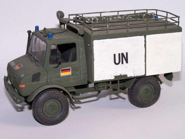 Unimog FL-Kfz 1000 Umbau auf Basis des Revell-Modelles (1:35 Revell)