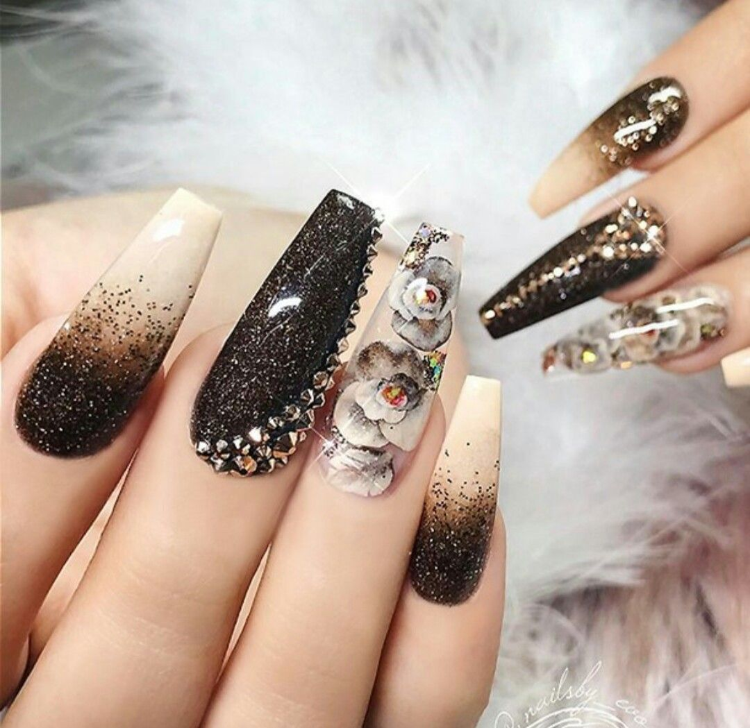 Pin de Marina Mendoza en Nail Art | Pinterest | Diseños de uñas ...