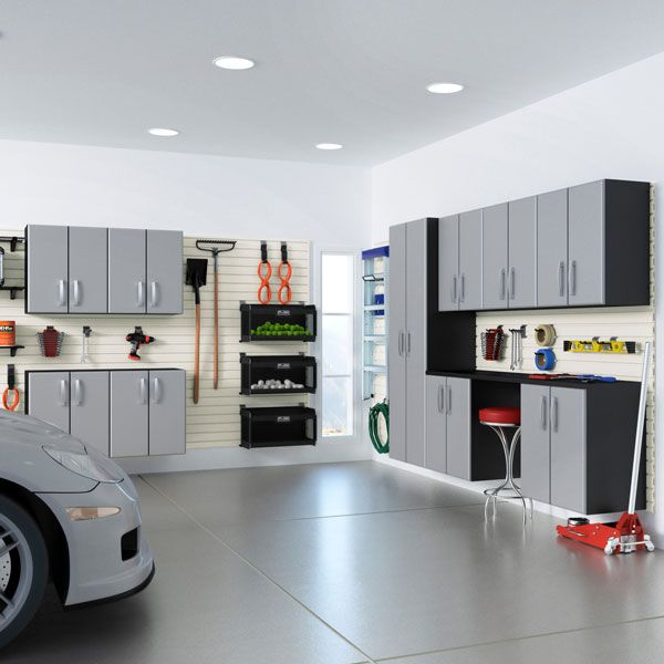 Pro Tips For Planning Your Dream Garage: Slatwall Panels For Wall Storage In Garage And Retail In