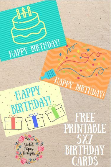 Free Printable Happy Birthday Cards The Pinterest Group Board