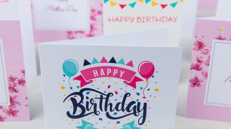 Print Greeting Cards Custom Greeting Cards Digital Intended For Indesign Birthday Card Template Professional Template