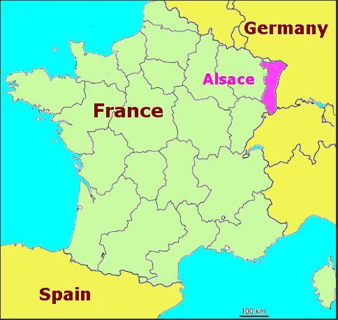 Alsace region France FranceColmar Strasbourg Alsace Region