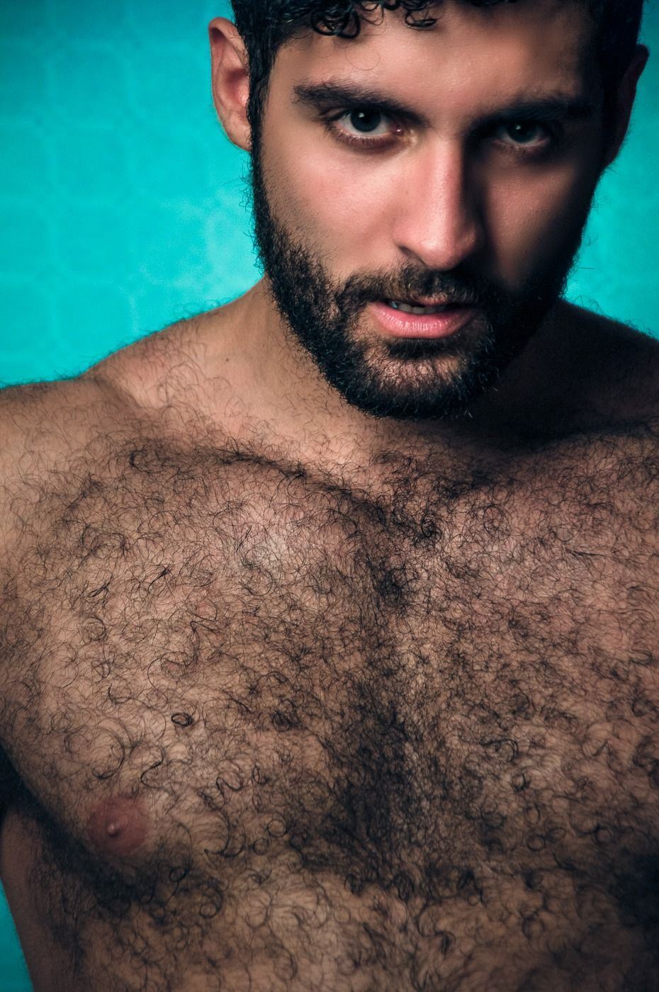 naked men with stubble