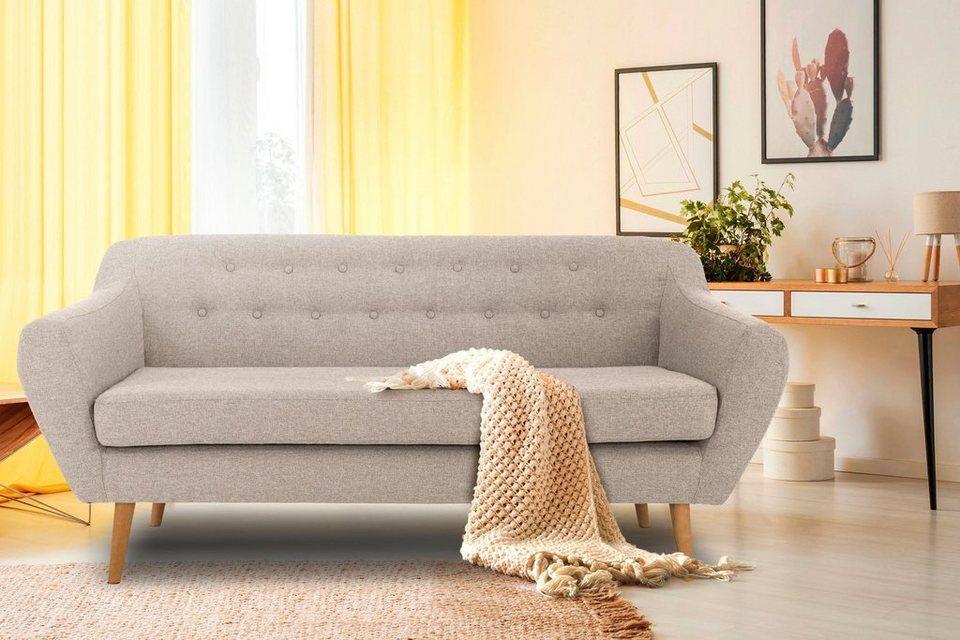 Andas 3 Sitzer Renne Mit Heftung Im Rucken Im Skandinavischem Stil Online Kaufen Otto 3 Sitzer Sofa Skandinavischer Stil Haus Deko