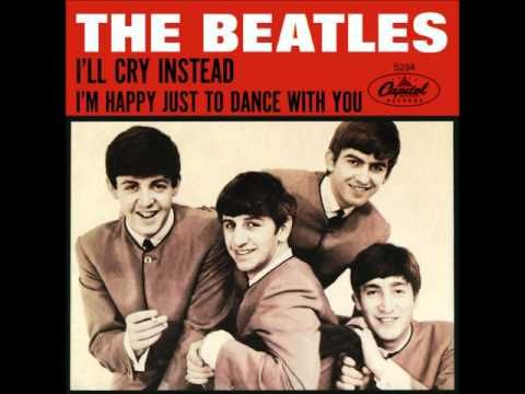 """http://youtu.be/uEO2gr4CBMc - """"I'll Cry Instead"""" was dropped from the film but left on the 'Hard Day's Night' soundtrack"""""""