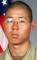 Army Pfc. Samuel S. Lee  Died March 28, 2005 Serving During Operation Iraqi Freedom  19, of Anaheim, Calif.; assigned to 1st Battalion, 506th Infantry Regiment, 2nd Infantry Division, Camp Greaves, Korea; died March 28 of non-combat-related injuries in Ramadi, Iraq.