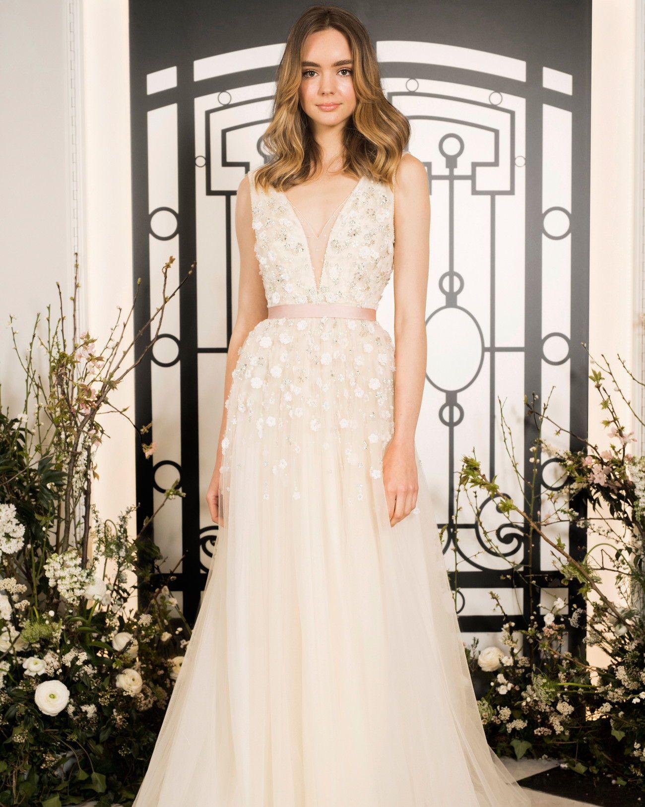 3ba8c6111a37 ... #Wedding #Fashion #BridalFashionWeek #Designer #Bridal #Dress  #WeddingDress #HighFashion #JennyPackham | Martha Stewart Weddings - Jenny  Packham Spring ...