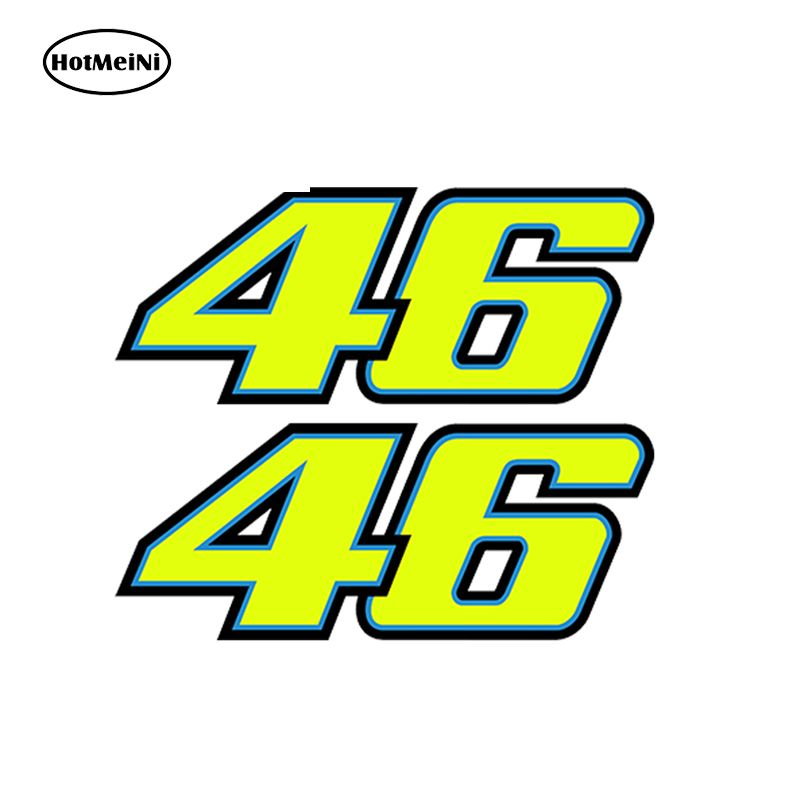 3d Nummer 46 Valentino Rossi Moto Der Arzt Aufkleber Vr46
